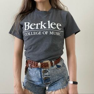 Champion Berklee College of Music Graphic Tee Y2K